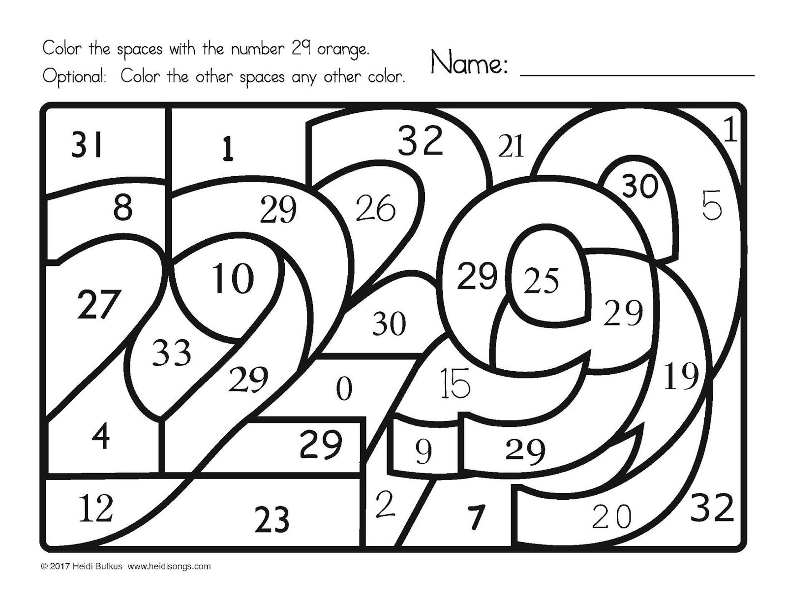 Before and after Numbers Worksheets