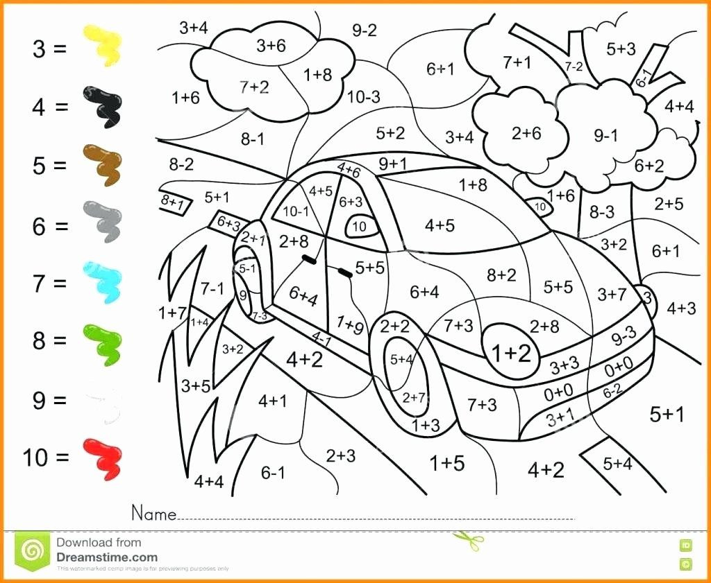 Coloring Math Activities for Middle School Best 6th Grade
