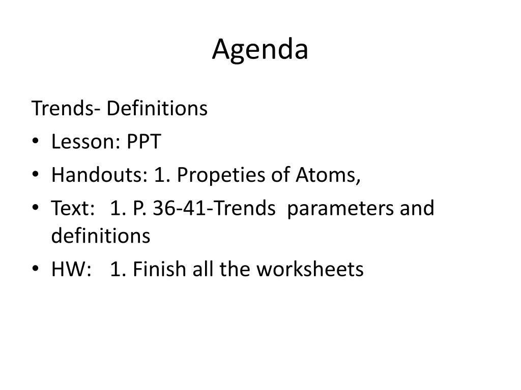 The Periodic Table Powerpoint Worksheet