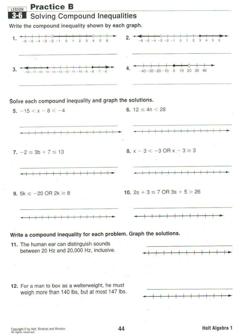 ✅ pound inequalities worksheet You Calendars s