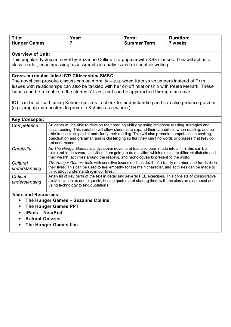 Creating A Dystopia Worksheet