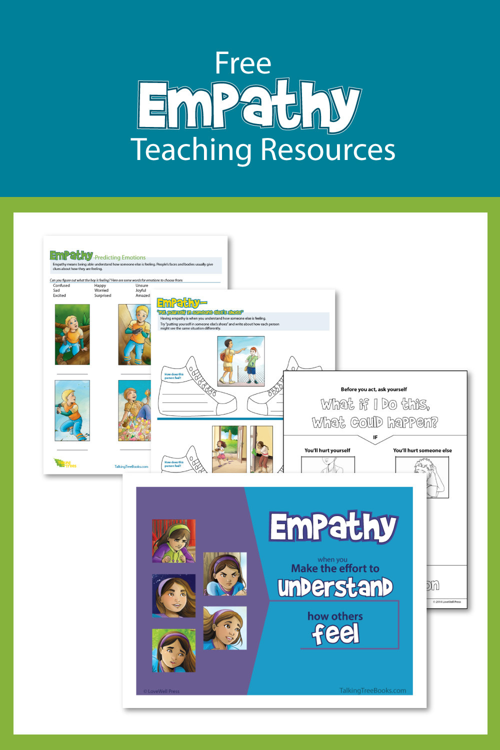 Empathy Worksheets and Teaching Resources