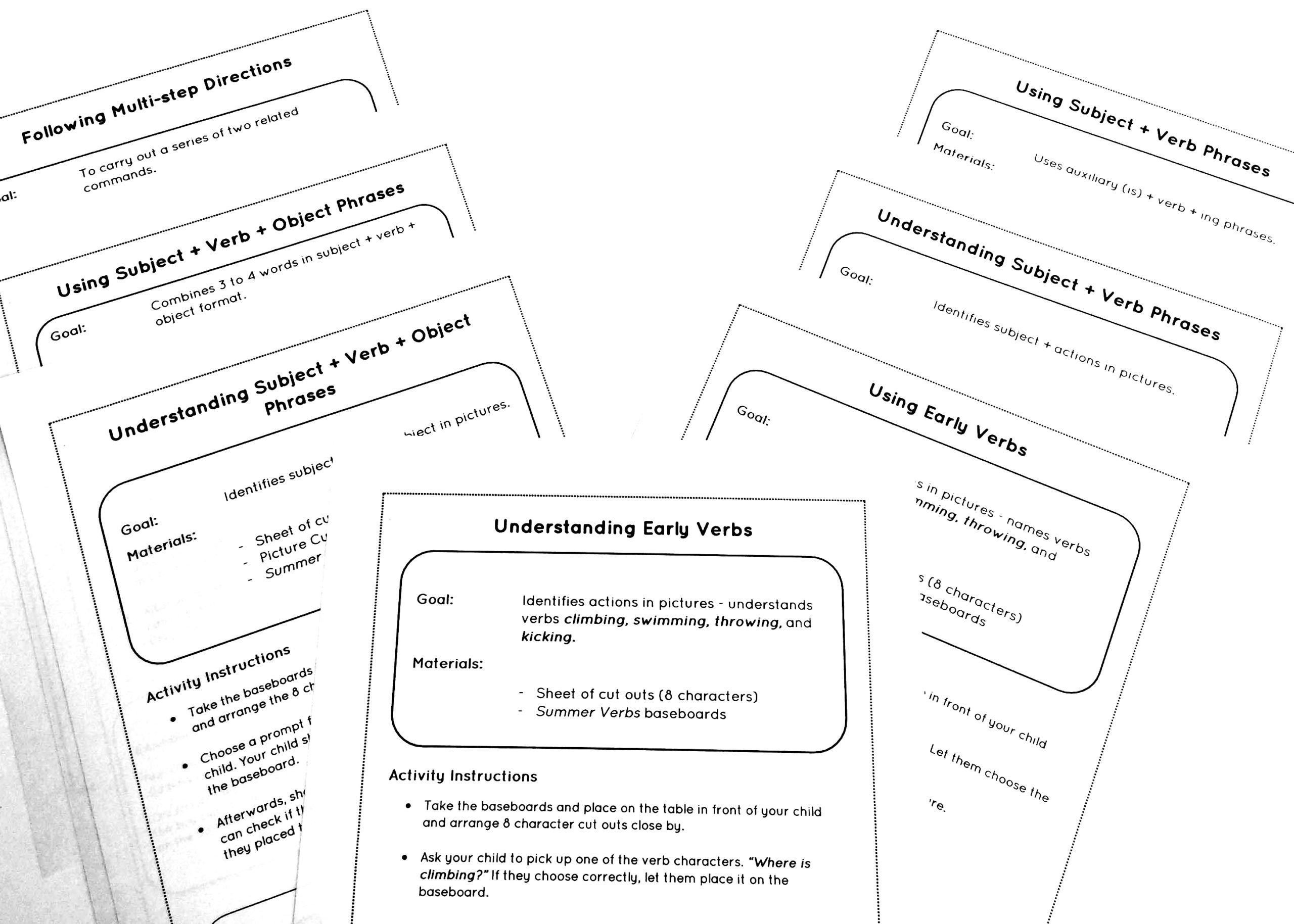 Following Multistep Directions Worksheets