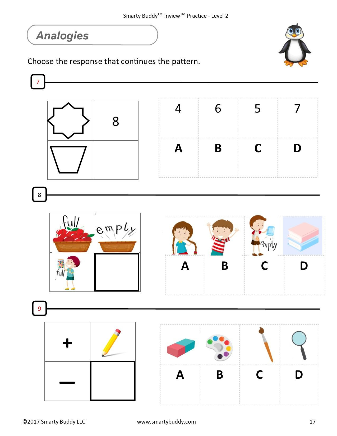 Free Gifted and Talented Worksheets
