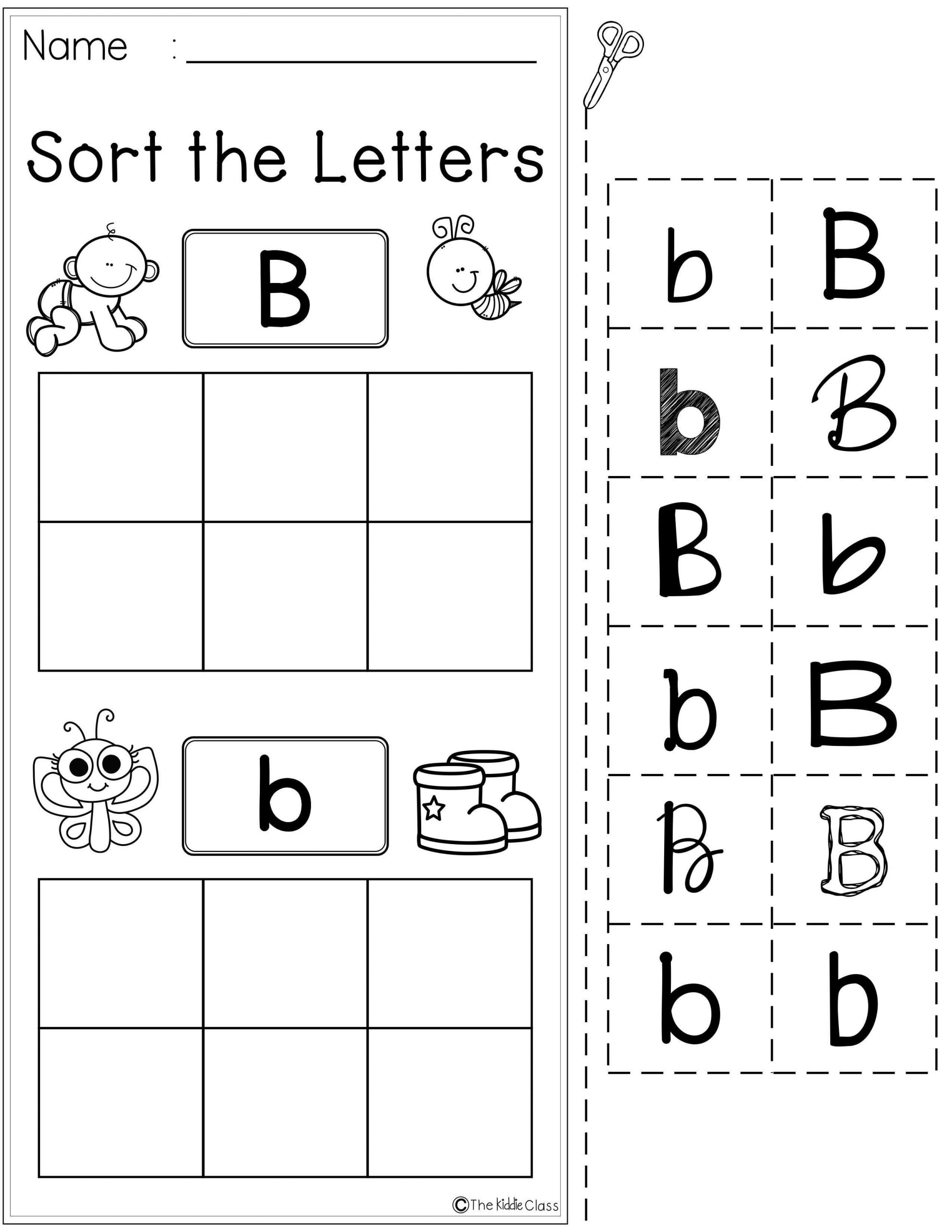 Free Letter of the Week B
