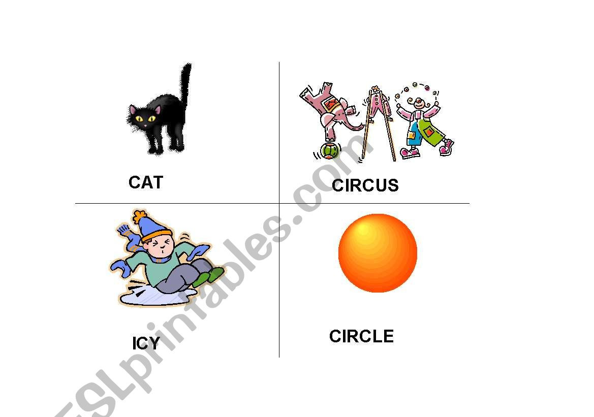 Soft C and G Worksheets