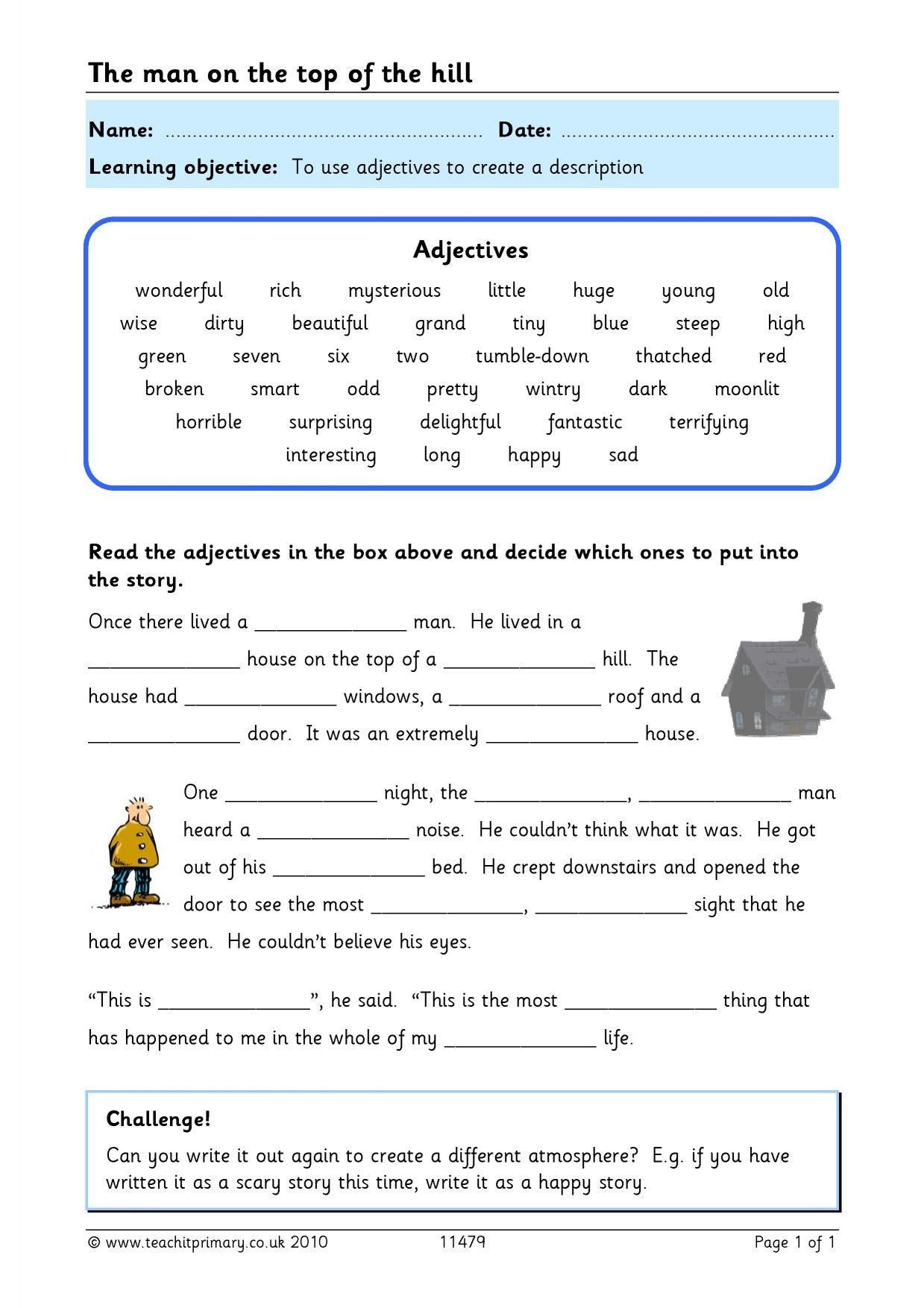 Text Feature Worksheets 3rd Grade Using Text Features
